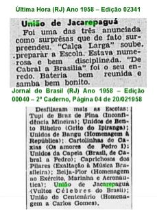 União Carnaval 1958