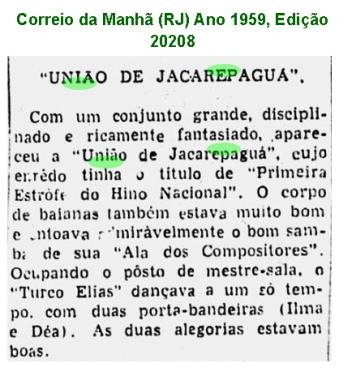 União Carnaval 1959
