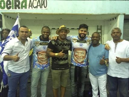 João Vitor Araújo o 2º da esquerda para direita