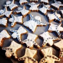 biscoitos com confeitos