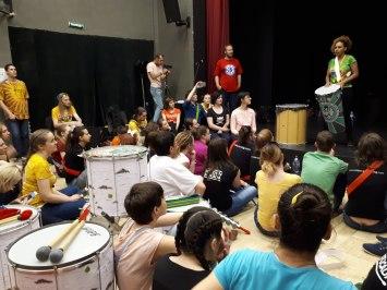 Репетиция. Московский самба фестиваль 2018. Фото Алексея Пырникова