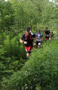 Alkumatkan tyypillistä tunnelmaa. Kuva: Vuokatti Trail Challenge