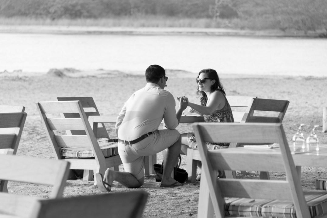 Proposal at Panagas Beach Club Tamarindo Costa Rica