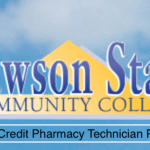 Lawson State Non Credit Pharmacy Technician Program Fall 2020