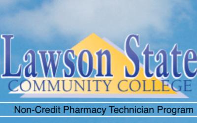 Lawson State non-credit Pharmacy Technician course