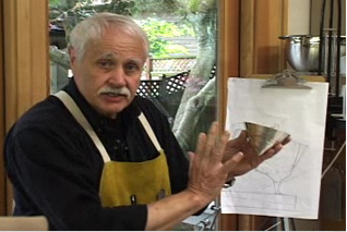 Artist John Marshall on his creative process, screen shot from the SAM video