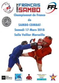 Affiche Championnat Marseille Sambo Combat