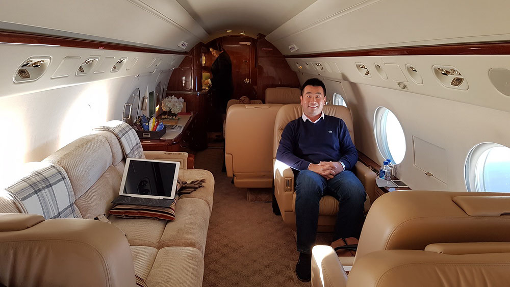Review Jetsmarter Private Jet Gulfstream IV London To