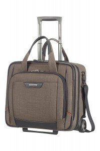 Samsonite business rolling tote Pro DLX 4 SP warm grey