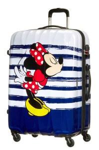 American Tourister Disney Legends Alfatwist spinner 75 Minnie Kiss