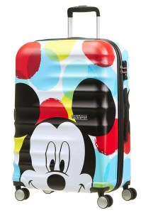 American Tourister Disney Wavebreaker spinner 67 Mickey Close-Up