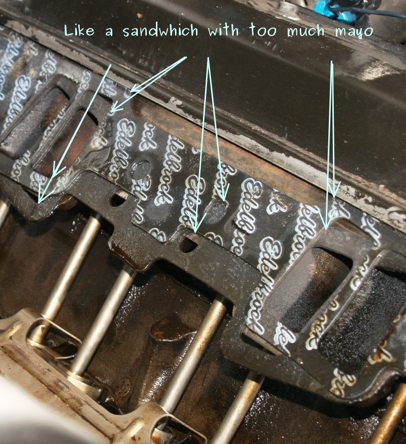1999 Gmc Yukon Intake Manifold Gasket Leak Sam Devol
