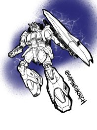 Zeta Gundam fan art.