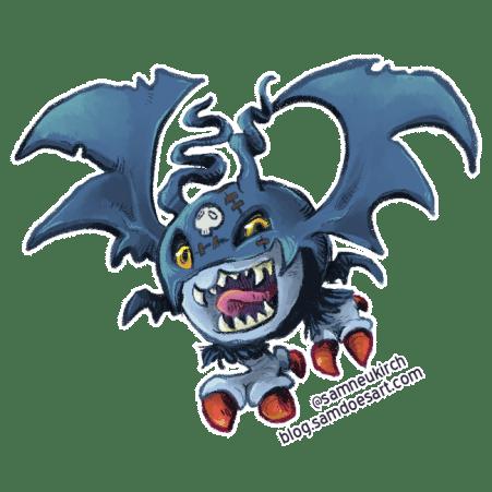 Demidevimon from Digimon