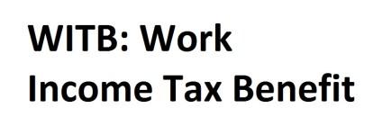 بنفیت مالیاتی کار WITB