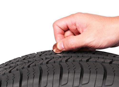 Worn Tread | Sand Springs Tires