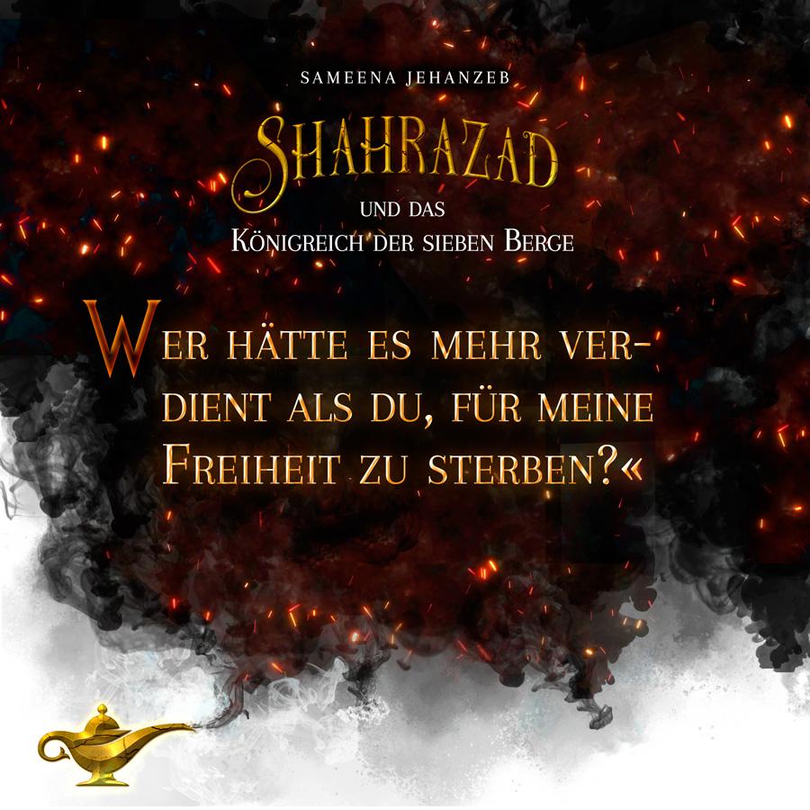 Zitat: Shahrazad und das Königreich der sieben Berge, Anthologie: Durch Eiswüsten und Flammenmeere