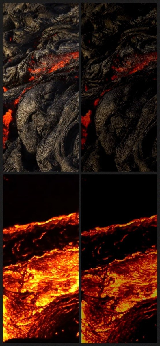 Shooting the lava flows in Hawai'i in 4K HDR