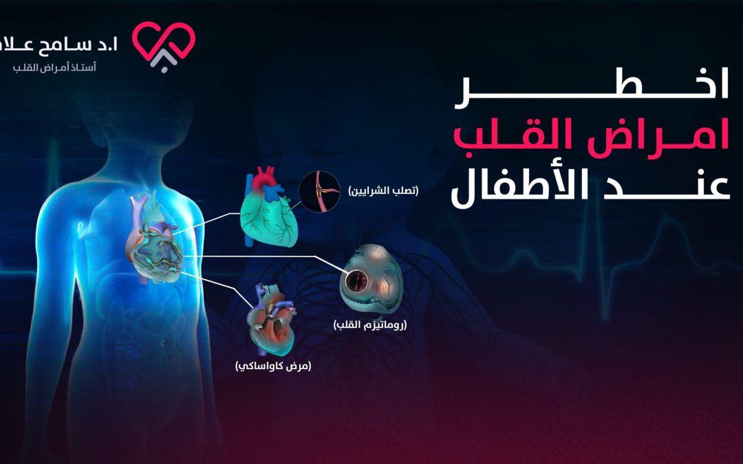 ما هي انواع اخطر امراض القلب عند الاطفال؟ أكثر من 15% منها وراثية