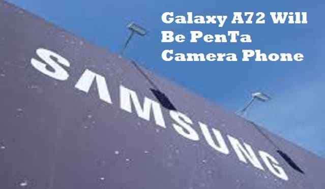 Samsung A52 Penta Camera Phone