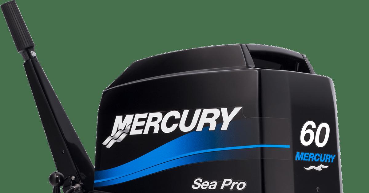 Seapro 25 60hp Mercury Marine