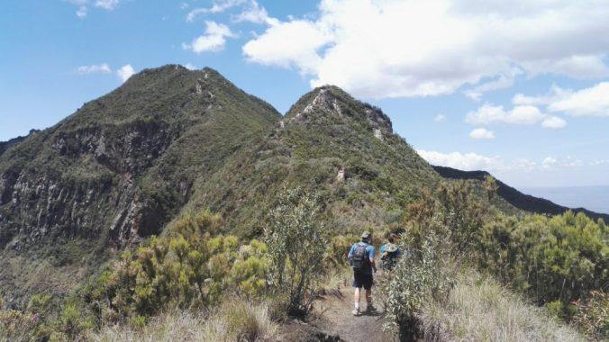 Scaling Mount Longonot