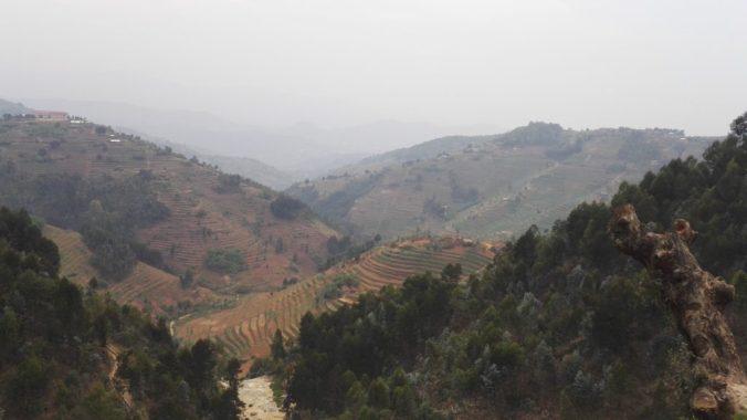 6/1000 hills in Rwanda