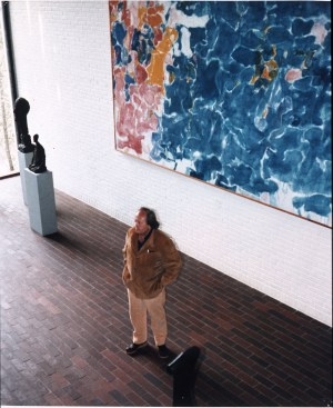 Francis at Louisiana Museum of Modern Art, Humlebaek, Denmark