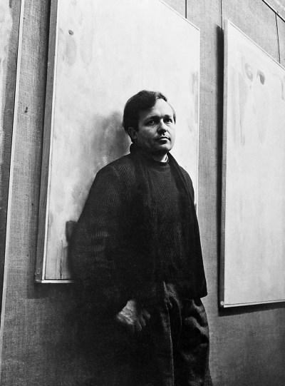 Francis at Galerie Nina Dausset, Paris, 1952