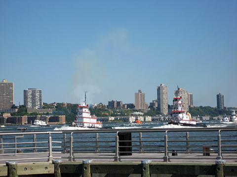 Tugboats on the Hudson River