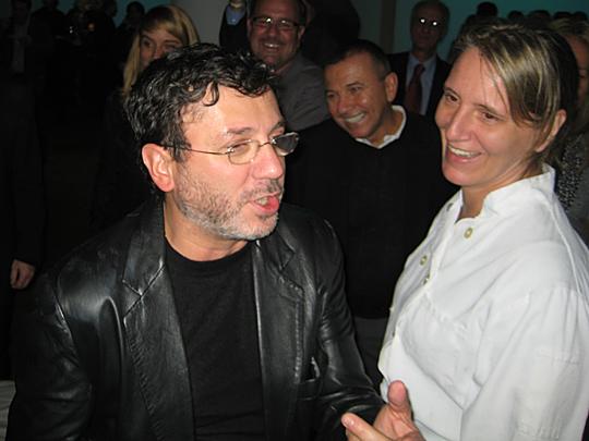 Nicola Marzovilla and Patti Jackson