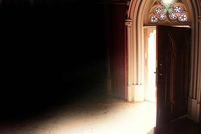 Open Door to a Church
