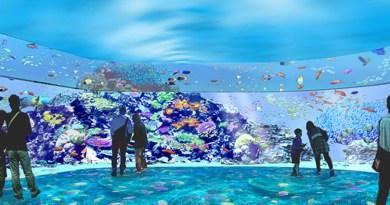 台灣首座國際級水族館Xpark位在桃園  8月7日盛大開幕