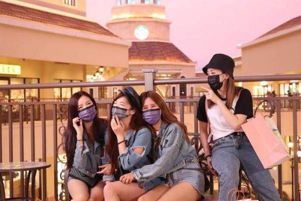 麗寶Outlet週年慶 滿額免費遊落羽松+百元加購繽紛口罩