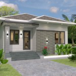 House plans 7.5x8.5m with 2 bedrooms 25x29 Feet 4