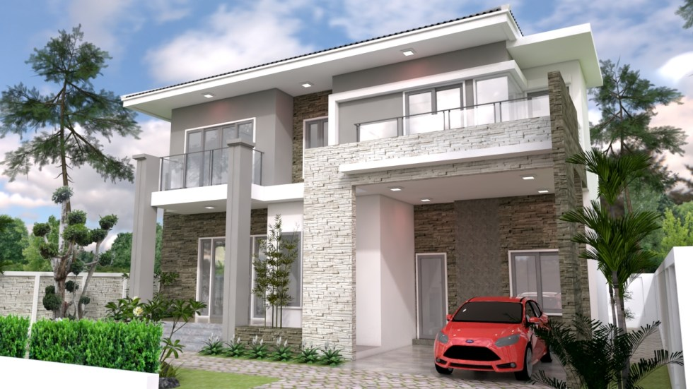 House Plans 12x10 with 5 Bedrooms 2