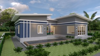 House Plans idea 17x13 with 3 Bedrooms 3