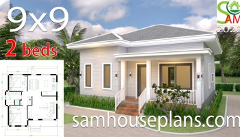 House Plans 9x9 With 4 Bedrooms Samhouseplans