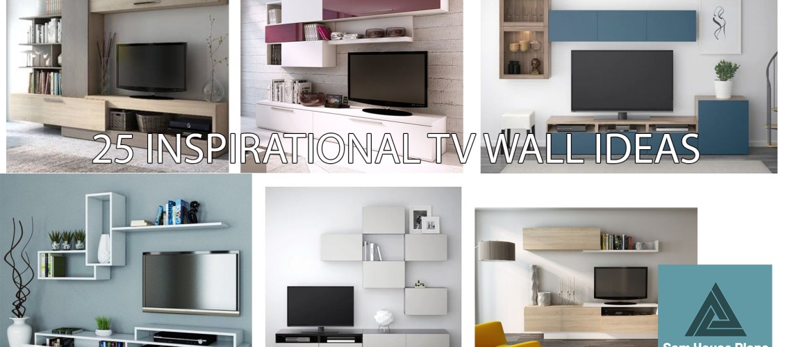 25 INSPIRATIONAL TV WALL IDEAS