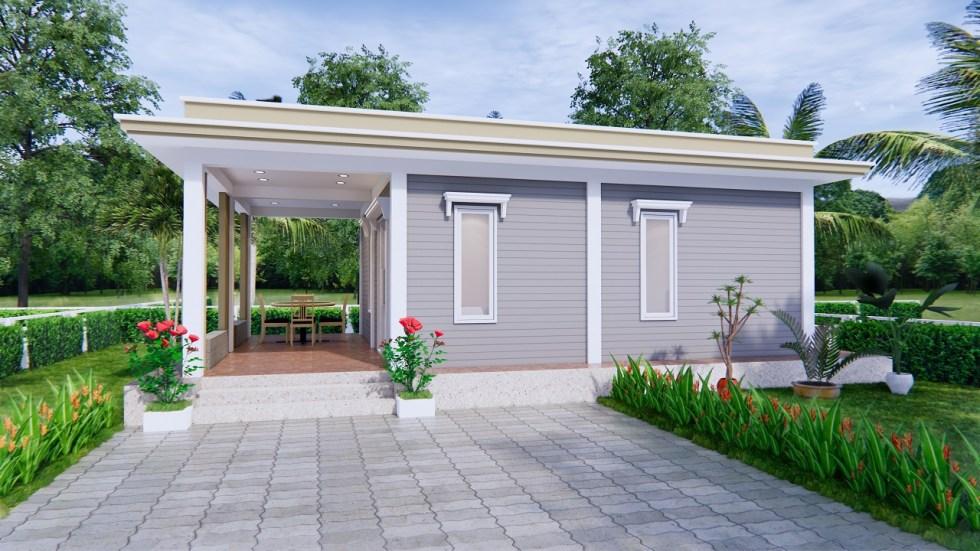Best Small House Designs 9x6 Meter 30x20 Feet 2 Beds 2