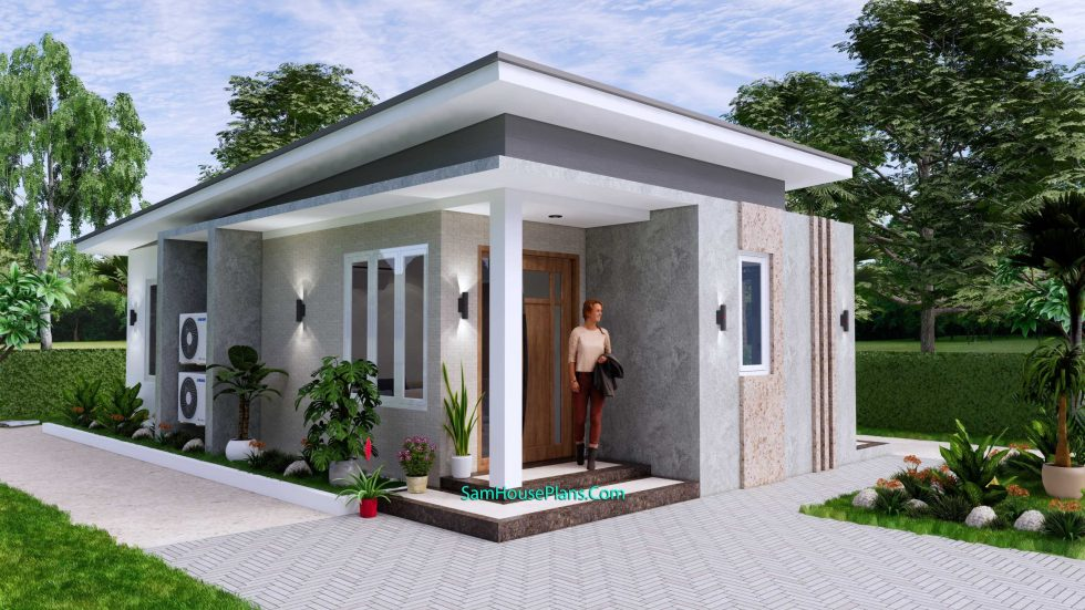 Small House Plan 4.5x9 Meter One Bedroom PDF Plan 4