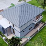 Small House Design 11.8x7.5 meters with 3 Beds Full PDF Plan 8