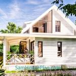 House Design Plan 14x9 Meter 46x30 Feet 3 Bedrooms Full PDF Plan 3d 8