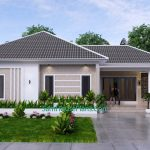 House Design Plan 15x9 M with 3 Beds PDF Full Plan 3d 2