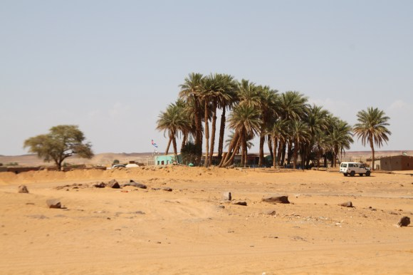 "Central view of Dakhla, with ""Coco Jungle"" in the distance."