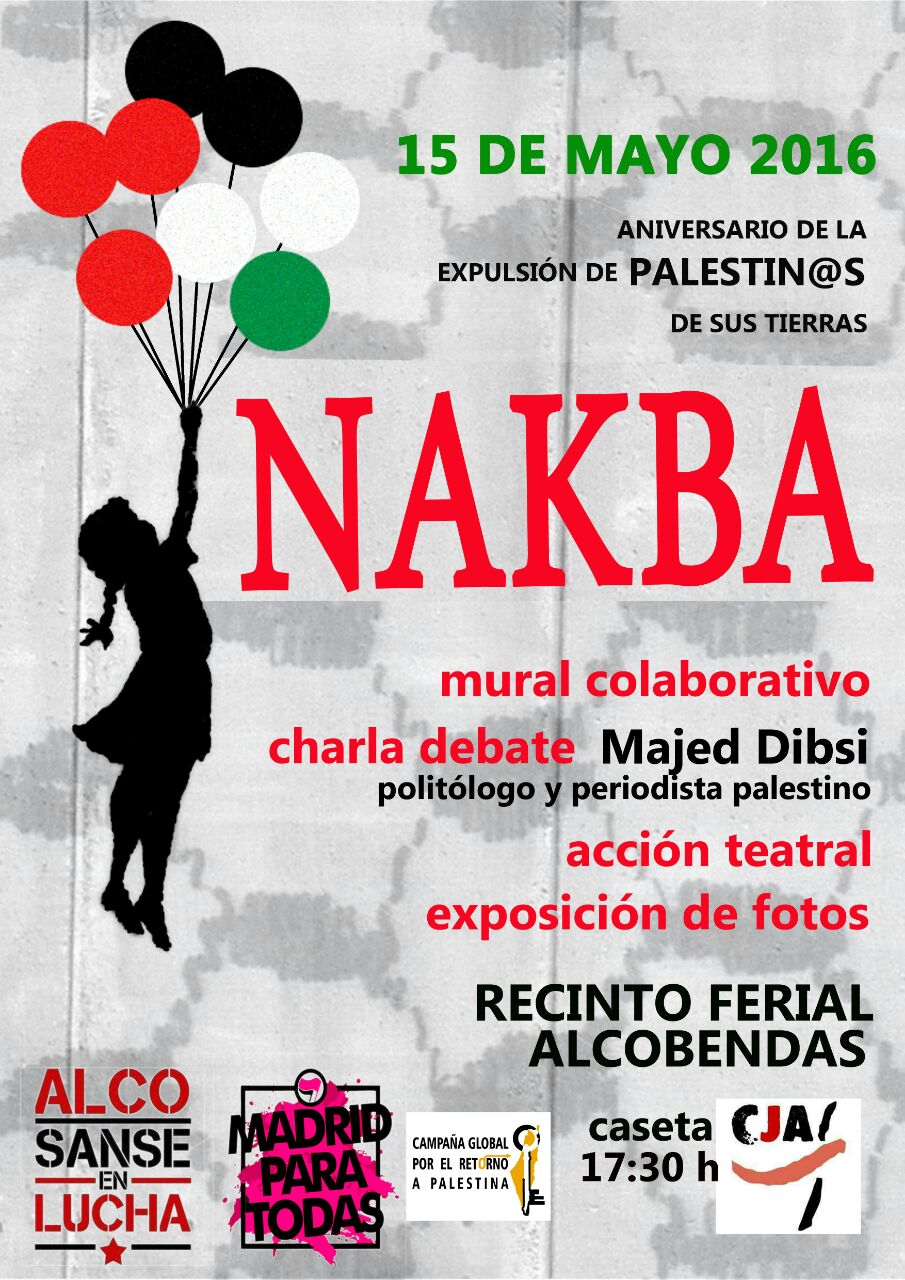 Marking Al-Nakba 68: Events Around the World for Palestinian Return ...
