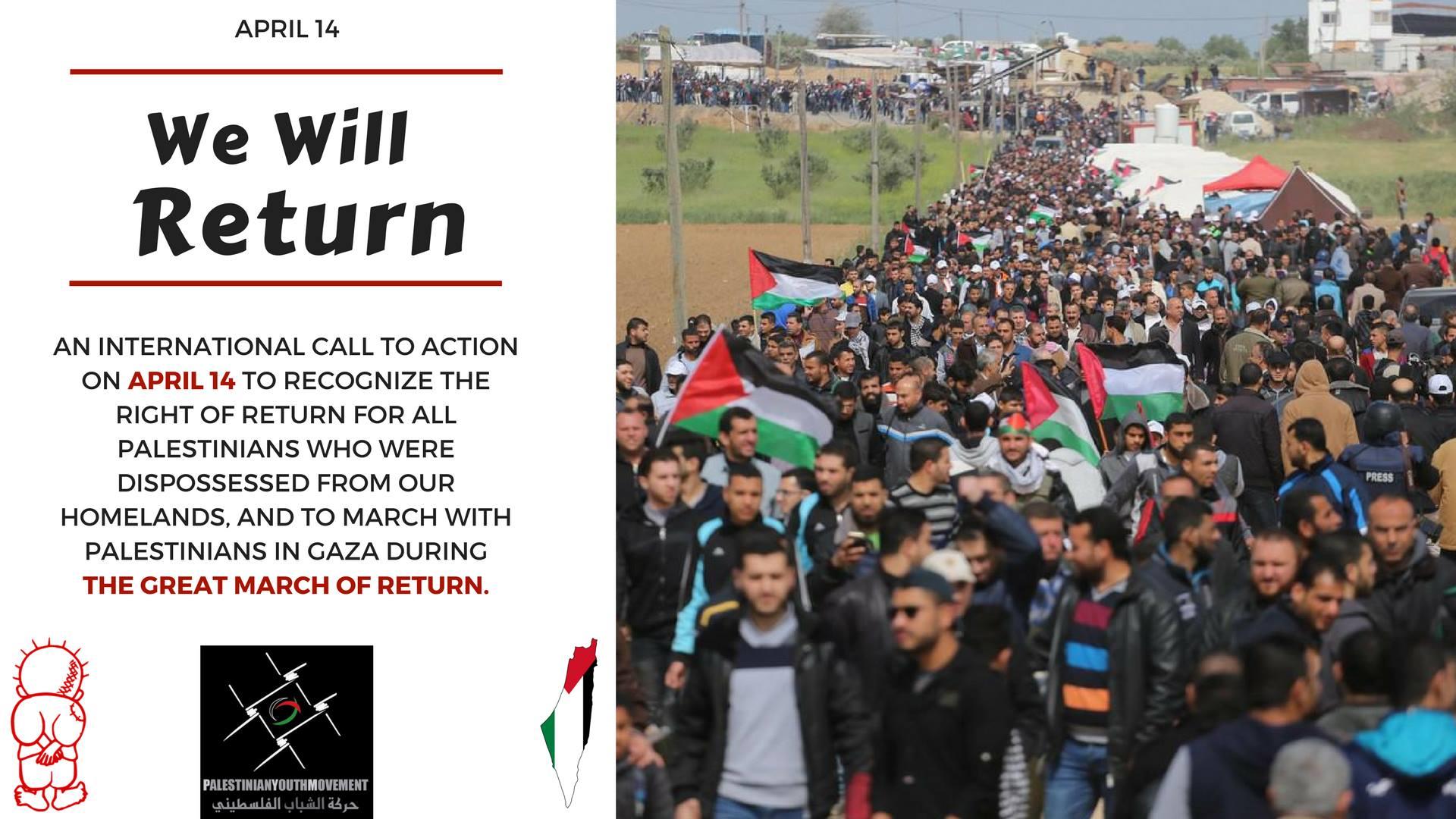 Great march return