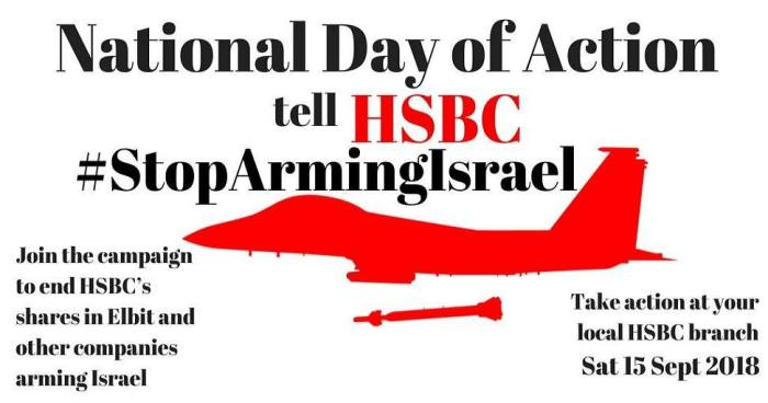 15 September, Britain: National Day of Action - tell HSBC to