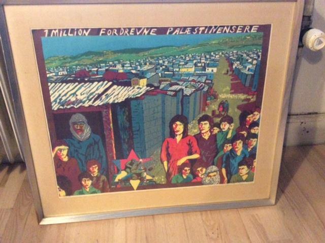 13 January Copenhagen Flea Market For Palestine And Political