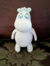 Moomin by @GerardineTweets